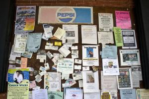 Bulletin Board: Post your rental ads for free on bulletin boards at businesses near your rental property.