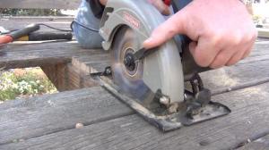 Cutting out damaged board